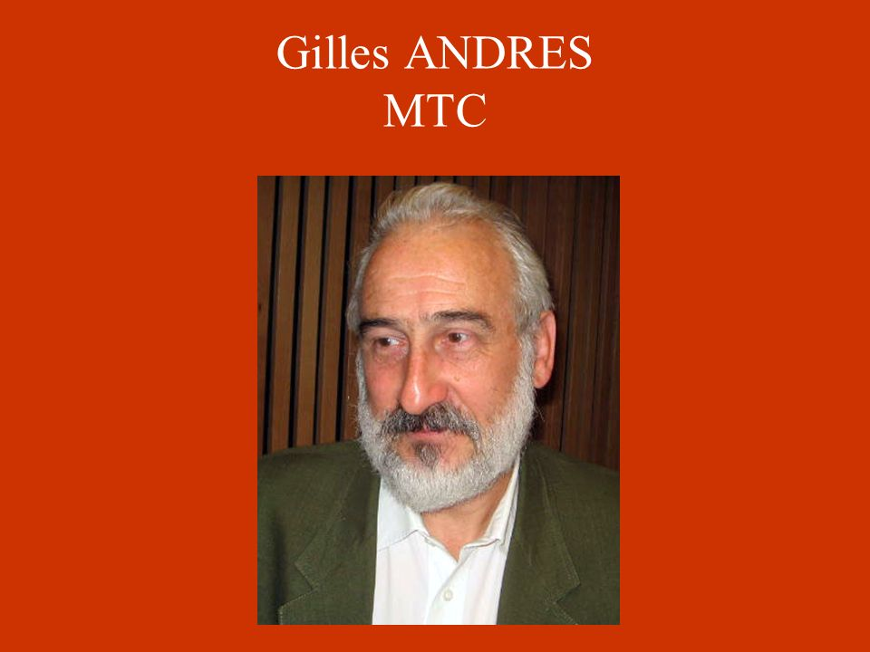 Gilles ANDRES MTC