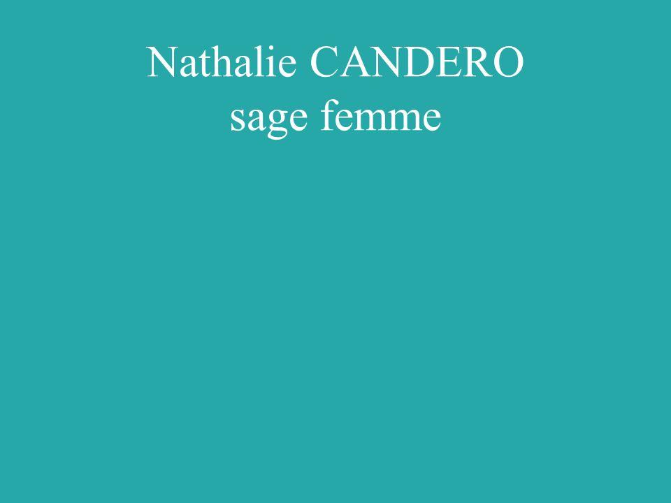 Nathalie CANDERO sage femme