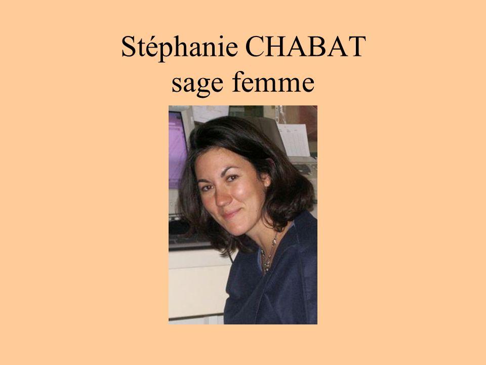Stéphanie CHABAT sage femme