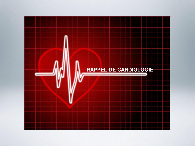 RAPPEL DE CARDIOLOGIE