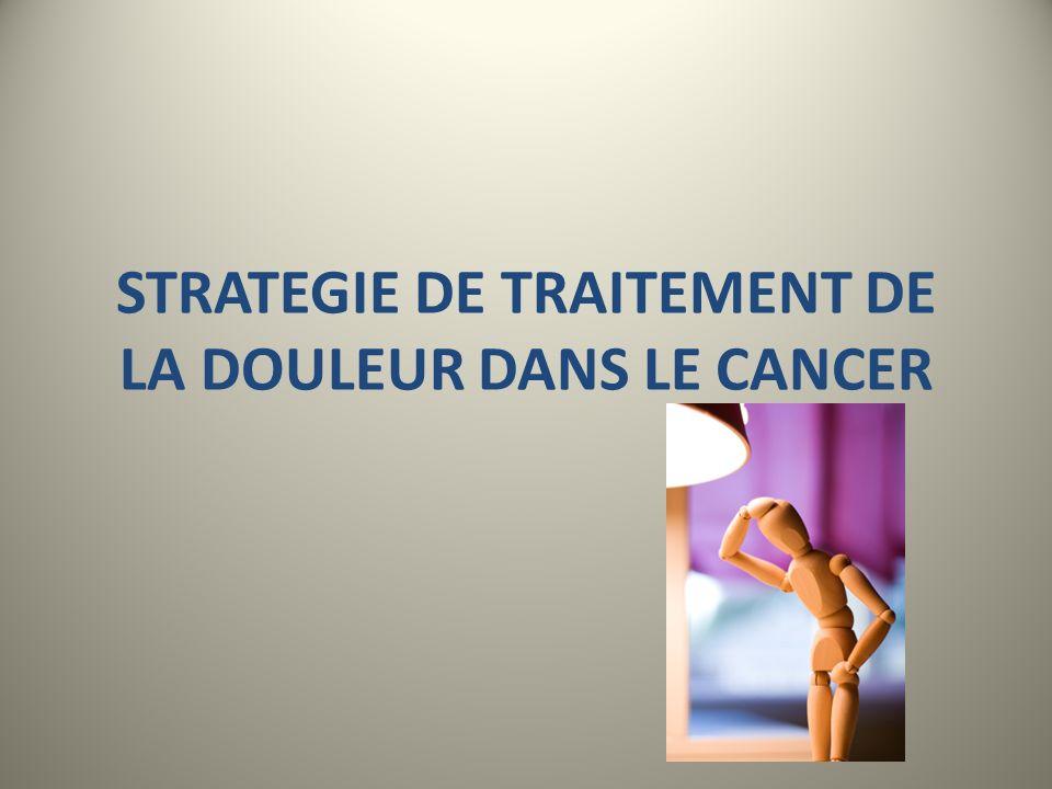 LES TRAITEMENTS MEDICAMENTEUX LES ANTALGIQUES H T The guidelines CHEST 2007;132:368S-403S Palliative Care in Lung Cancer