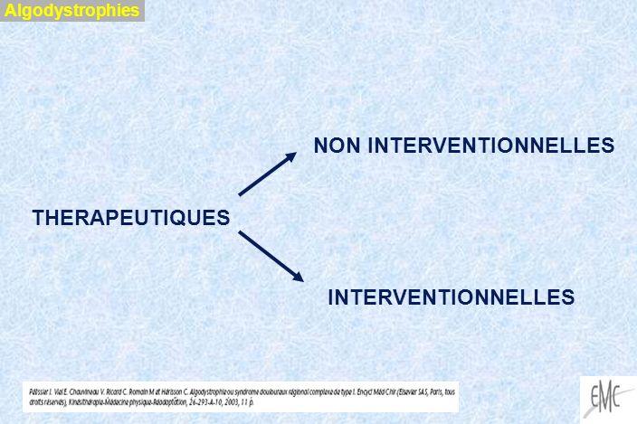 APPROCHE CHIRURGICALE Field et al J Bone Joint Surg 1994 Incidence des ASR corrélée avec la pression régnant à l intérieur du plâtre après fracture de Pouteau - Colles Codine et coll Main et Médecine orthopédique 1997 si le patient nécessite une immobilisation : - plus courte est la durée, moindre est l incidence d ASR - éviter les plâtres serrés - contrôler les plâtres à intervalles réguliers Algodystrophies
