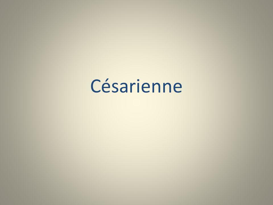 Césarienne