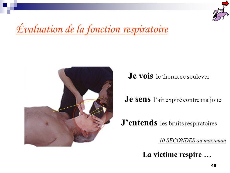 48 Retirer tout corps étranger visible à lintérieur de la bouche de la victime avec la main qui était sur le front
