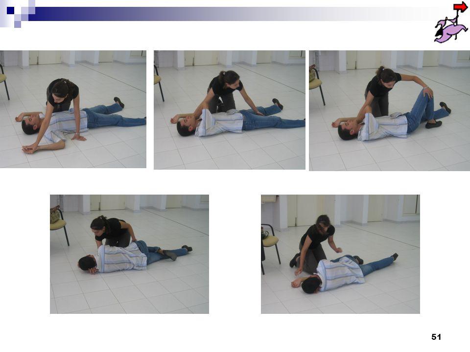 50 La Position Latérale de Sécurité Une personne inconsciente ventilant sécrète des substances quil lui faut évacuer sans contrainte.
