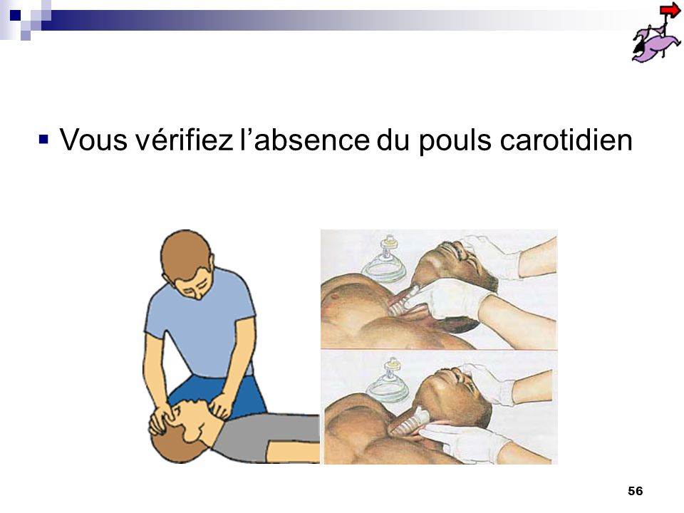 55 Après avoir constaté linconscience Assurer immédiatement la L.V.A. Constater labsence de la respiration alerter ou faire alerter