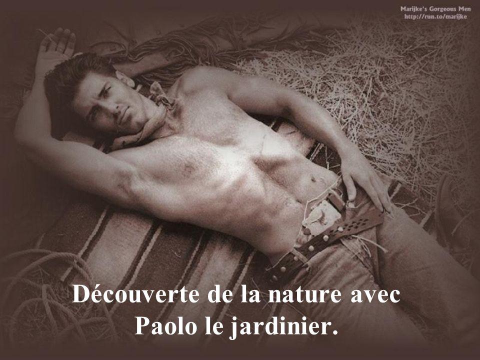Découverte de la nature avec Paolo le jardinier.