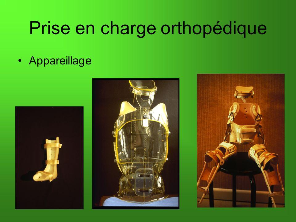 Prise en charge orthopédique Appareillage