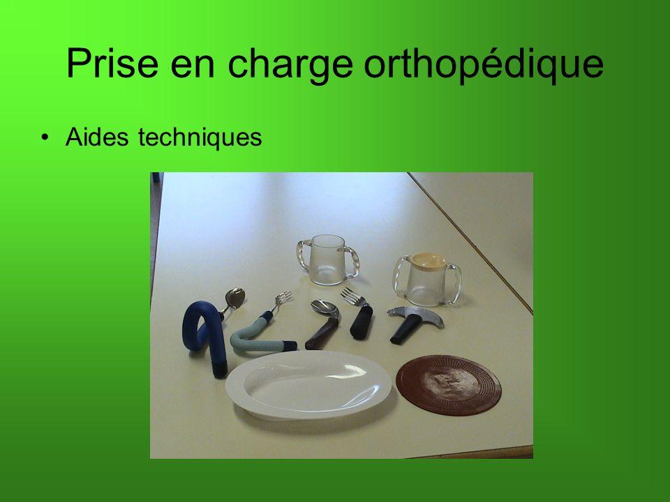 Prise en charge orthopédique Aides techniques