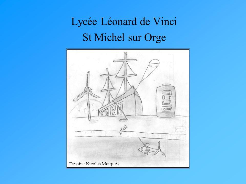 Dessin : Nicolas Maiques Lycée Léonard de Vinci St Michel sur Orge