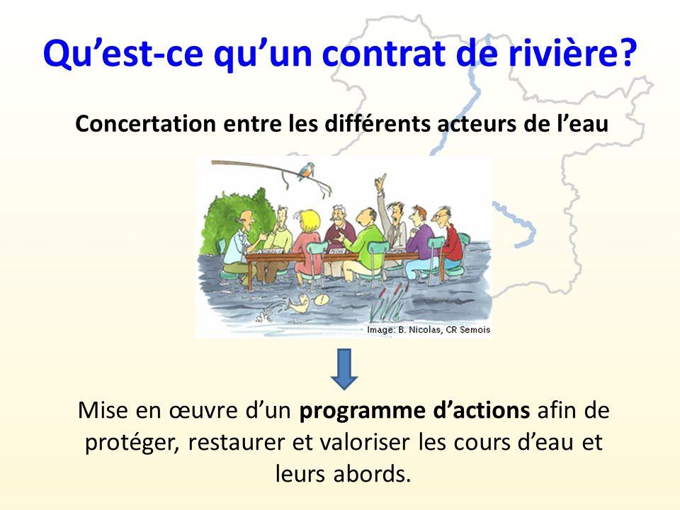 Quest-ce quun contrat de rivière.