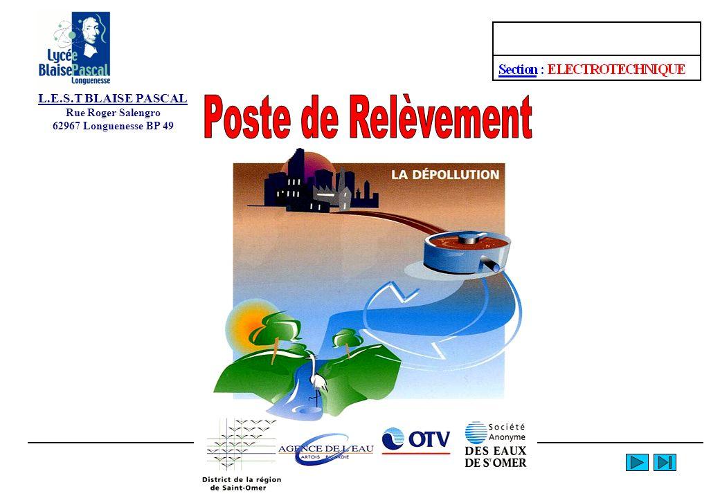 L.E.S.T BLAISE PASCAL Rue Roger Salengro 62967 Longuenesse BP 49