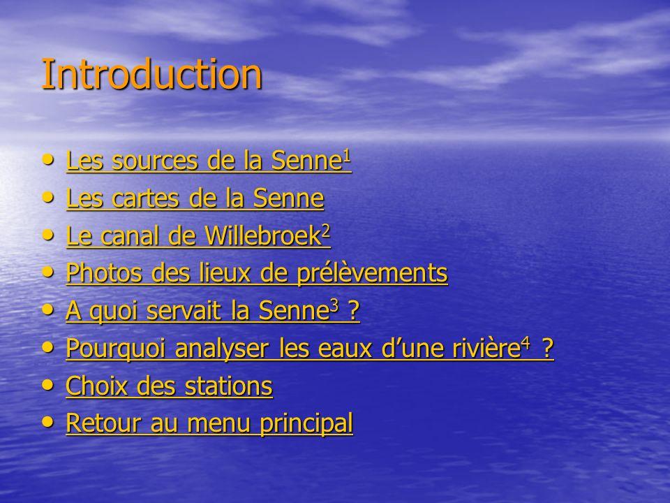 Les sources de la Senne La source de la Senne est constituée dune multitude de sources.