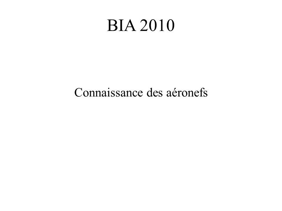 BIA 2010 Connaissance des aéronefs