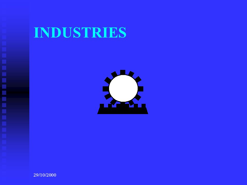 29/10/2000 INDUSTRIES