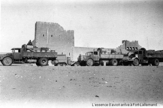 Lessence davion arrive à Fort-Lallemand…
