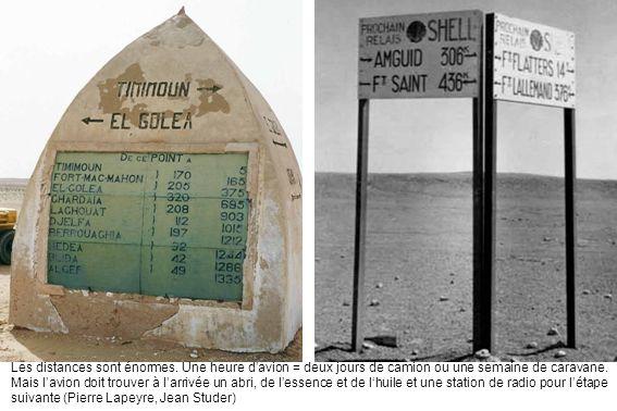 Panneau indicateur à Adrar (Claude Aubrejac)