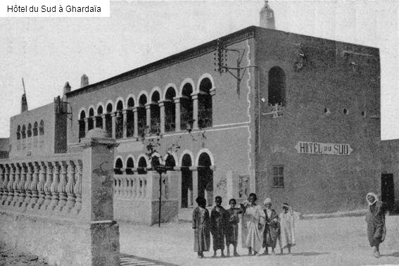 Hôtel du Sud à Ghardaïa