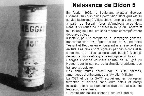En février 1926, le lieutenant aviateur Georges Estienne, au cours dune permission alors quil est au service technique à Villacoublay, remonte vers le