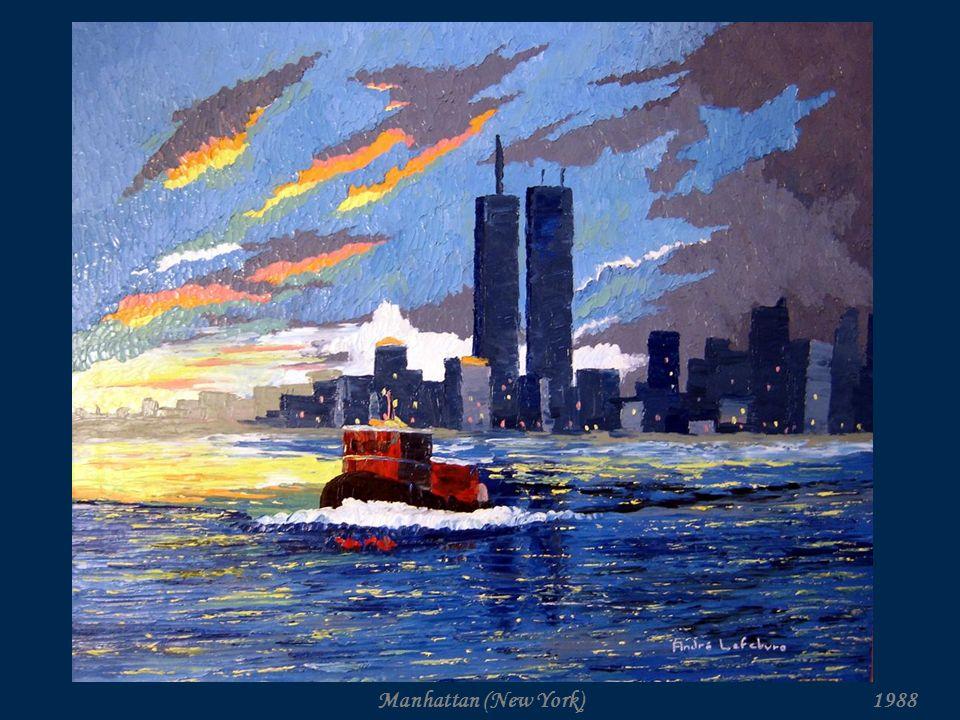 André Lefebvre Artiste peintre Collection : Les grandes villes. www.andre-lefebvre.com Avancez manuellement…
