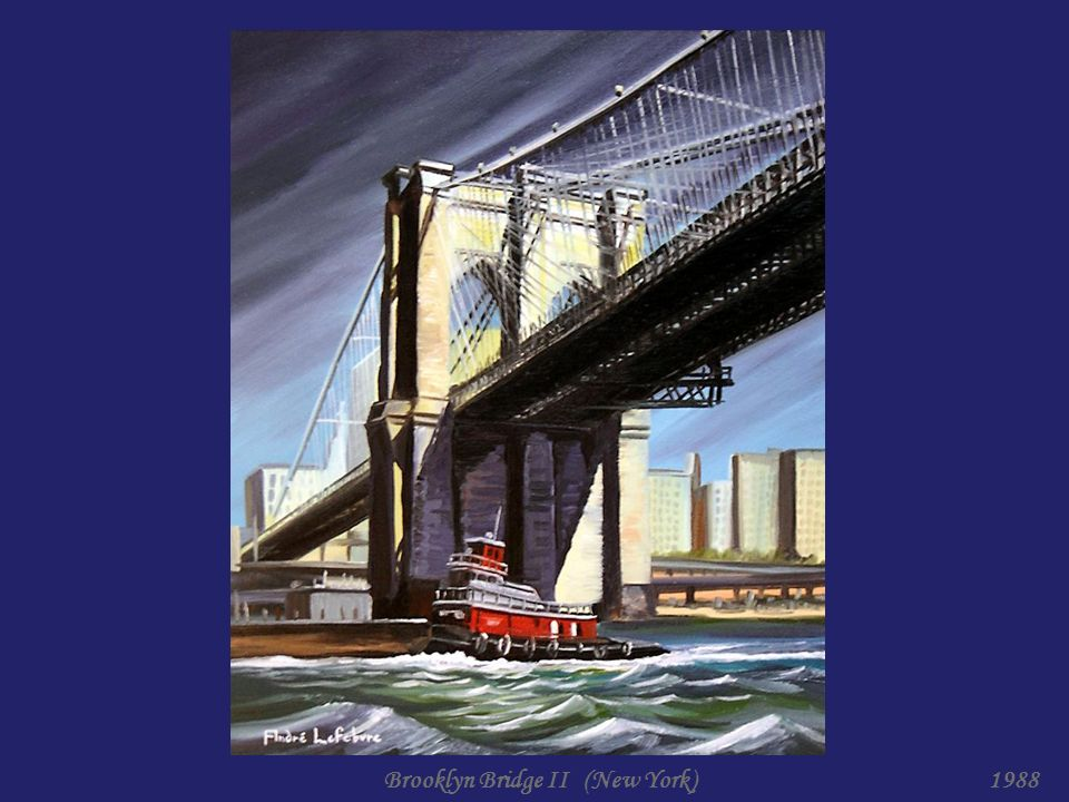Brooklyn Bridge I (New York)1988