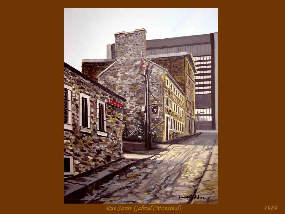 Maison du Calvet (Montréal)1989