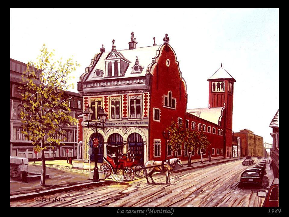 Rue Saint-Gabriel (Montréal)1989