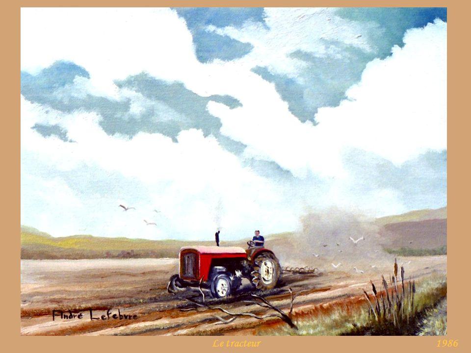 Le tracteur1986