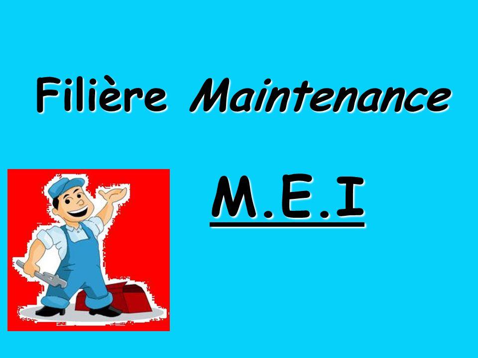 Filière Maintenance M.E.I