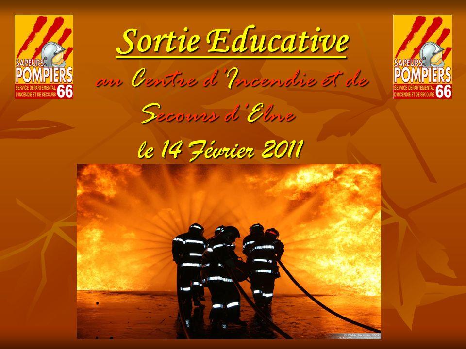 Sortie Educative au Centre dIncendie et de Secours dElne le 14 Février 2011