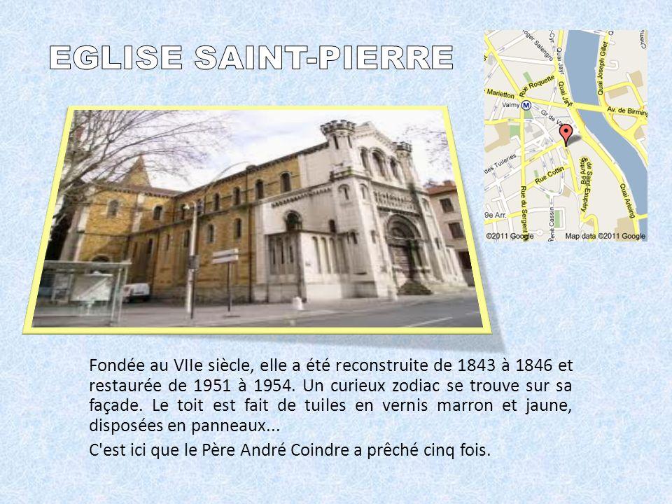 Fondée au VIIe siècle, elle a été reconstruite de 1843 à 1846 et restaurée de 1951 à 1954.