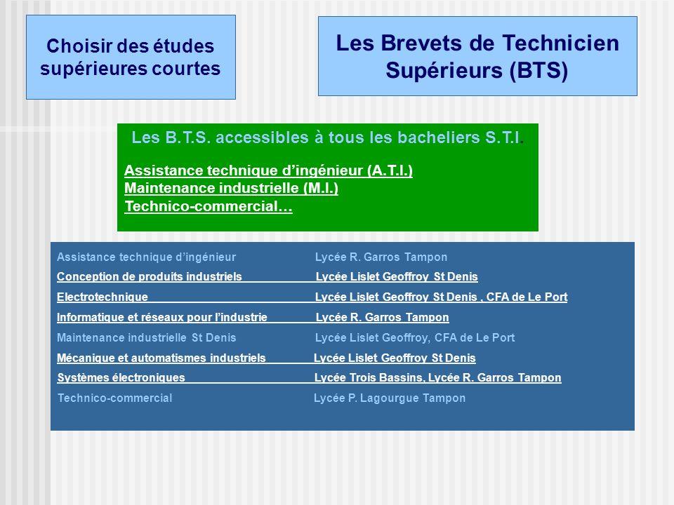 Génie Electronique Génie Electrotechnique Génie Mécanique Les sections STI