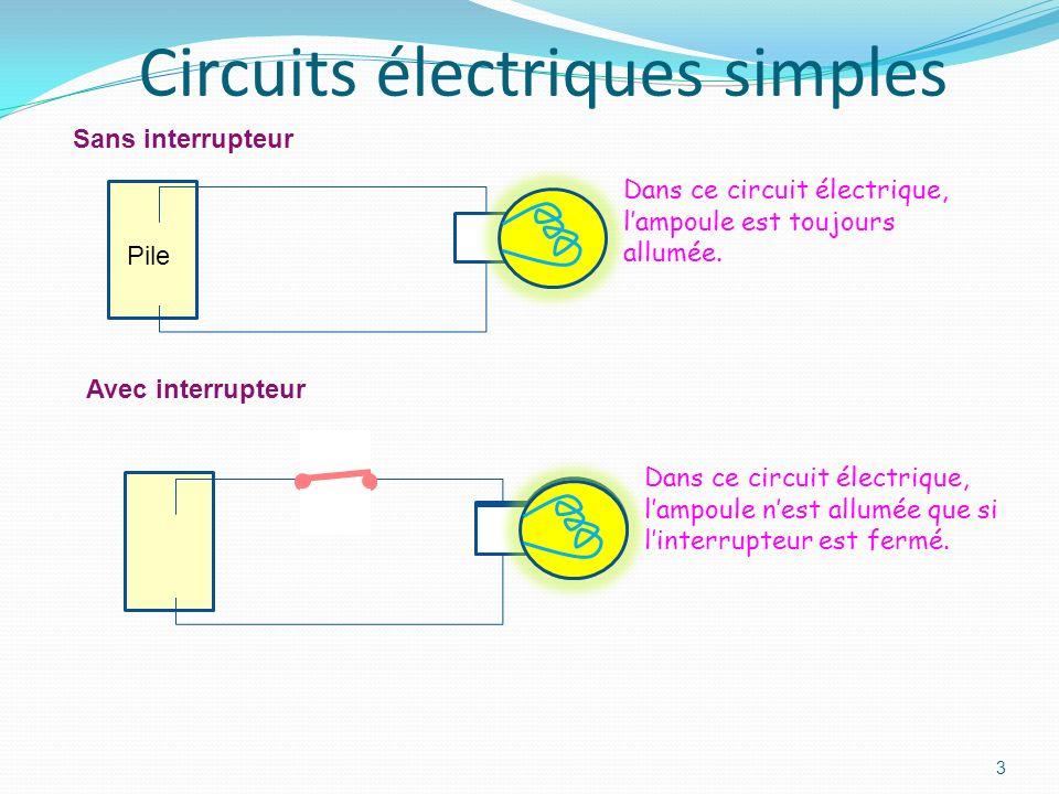 2 Fonctionnement de lélectricité Grain délectricité: électron Ampoule Pile Fil électrique Les électrons circulent dans le circuit: cest lélectricité.