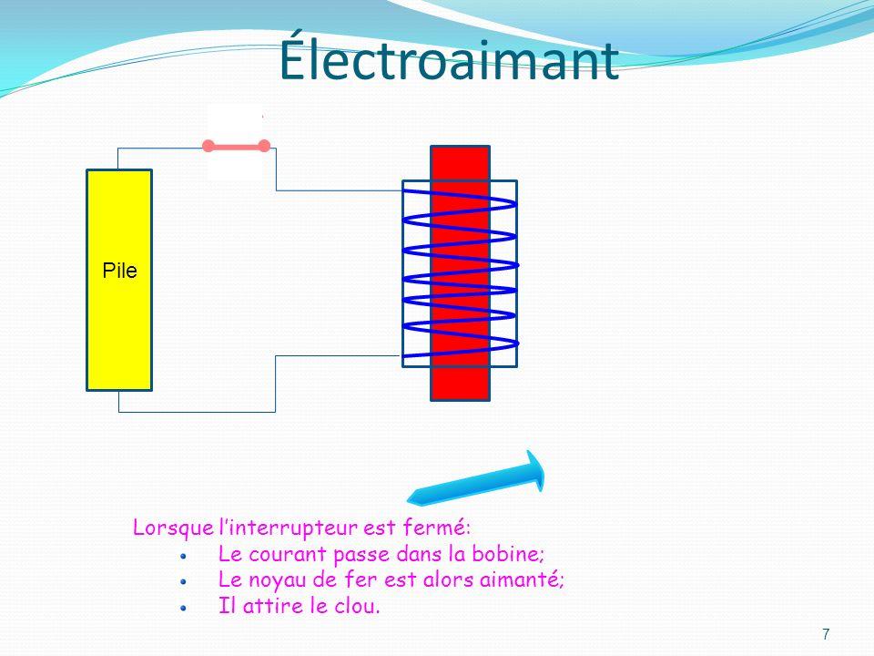 6 Schéma du circuit va-et-vient Ce montage en va-et-vient est utilisé pour commander la lumière dans une pièce où on peut entrer par deux portes. On p