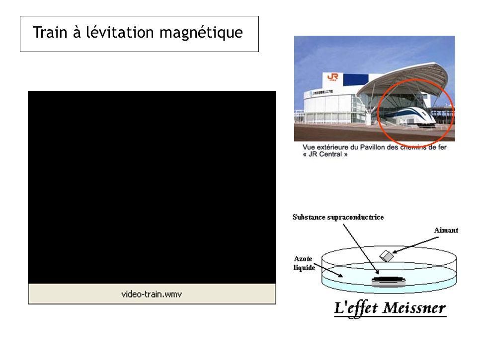Train à lévitation magnétique