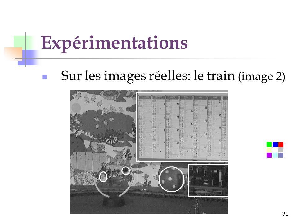 31 Expérimentations Sur les images réelles: le train (image 2)