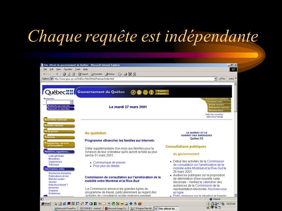 Résumé de l acquis Un témoin est un petit texte qui permet d enregistrer des variables sur l ordinateur du visiteur d un site Web.