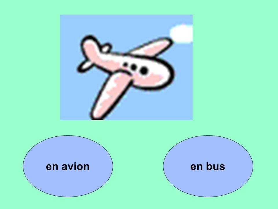 en busen avion