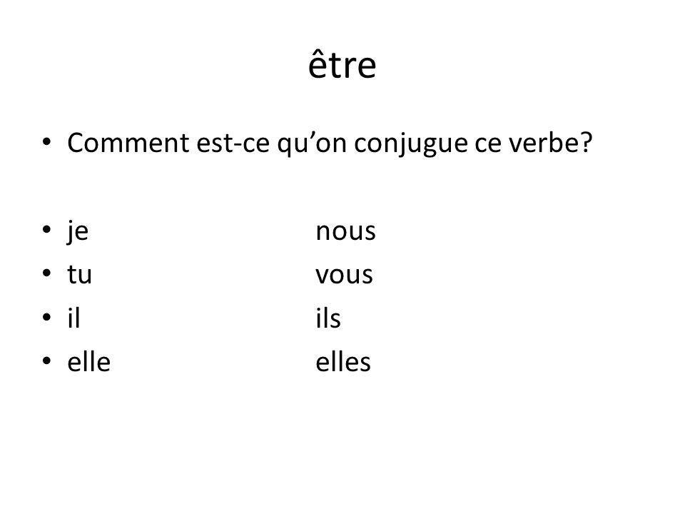 Quelques expressions avec être To agree with someone: – Je suis daccord.