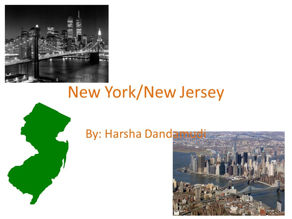 New York/New Jersey By: Harsha Dandamudi