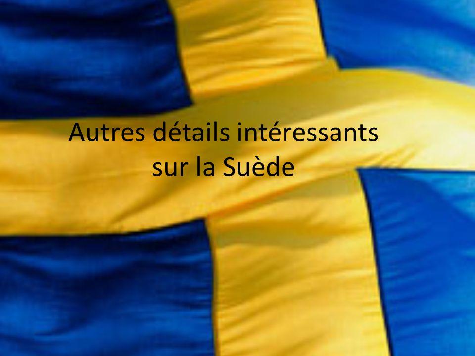 La Suède est connue pour la création du prix le plus reconnu dans le monde, le Prix Nobel.