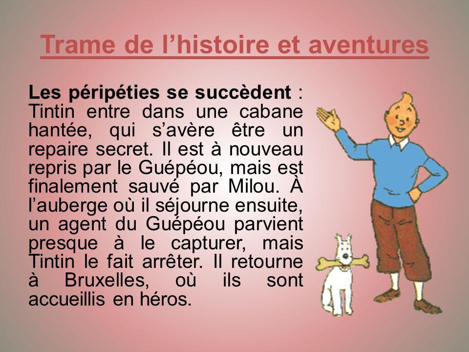 Trame de lhistoire et aventures Tintin constate que les dirigeants soviétiques forcent ses habitants au communisme.