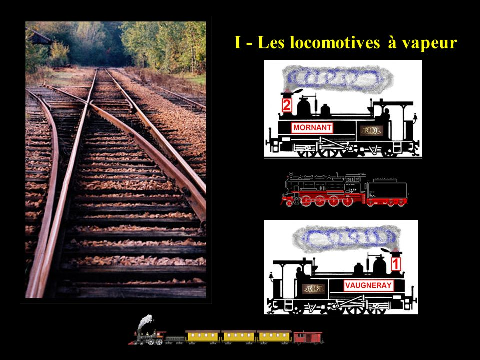 Locomotive Fives-Lille n°3 « CRAPONNE » tractant un convoi « électrique » en direction de Saint- Just.