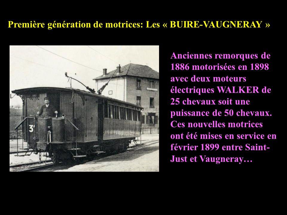II – Motrices électriques ou tramways sur la ligne du chemin de fer de louest lyonnais – FOL - OTL