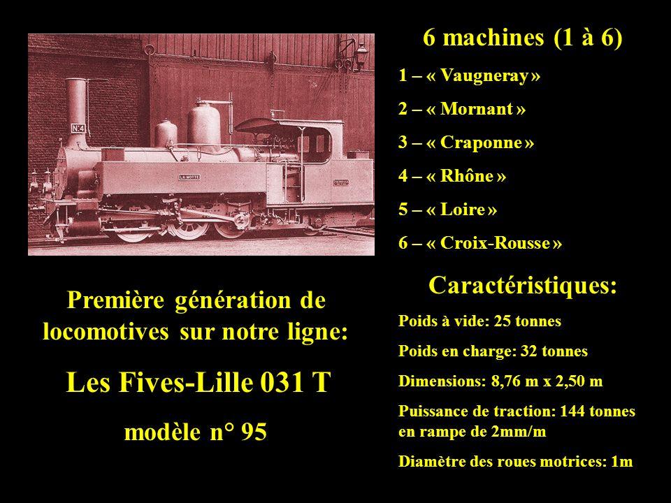 I - Les locomotives à vapeur