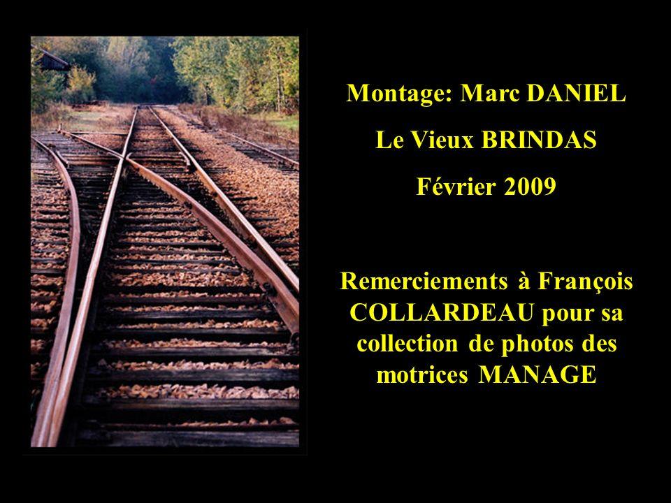 Dépose des voies à Craponne – 21 septembre 1955 (La gare est encore à gauche) Collection François COLLARDEAU
