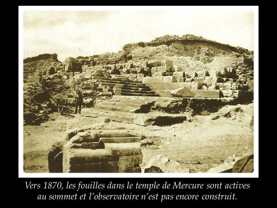 Après sa réfection vers 1872, « le chemin des muletiers » permet laccès au sommet …jusquà aujourdhui.