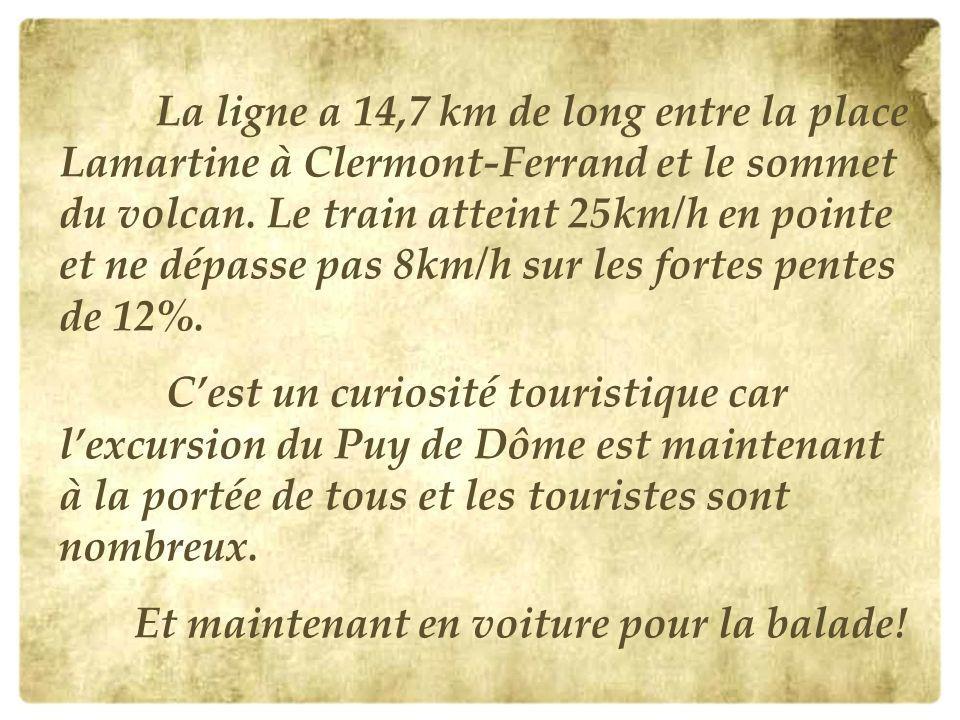 A cause dincidents techniques dans les mois précédents, linauguration a lieu dans la discrétion. Mais le train du Puy de Dôme est enfin en service.