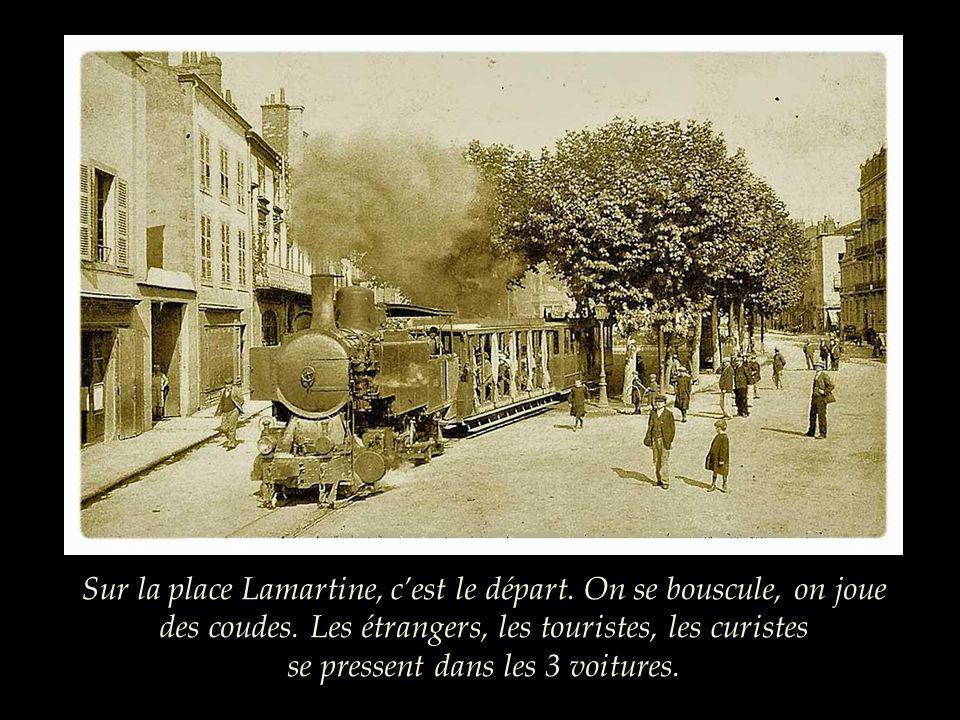La ligne a 14,7 km de long entre la place Lamartine à Clermont-Ferrand et le sommet du volcan. Le train atteint 25km/h en pointe et ne dépasse pas 8km