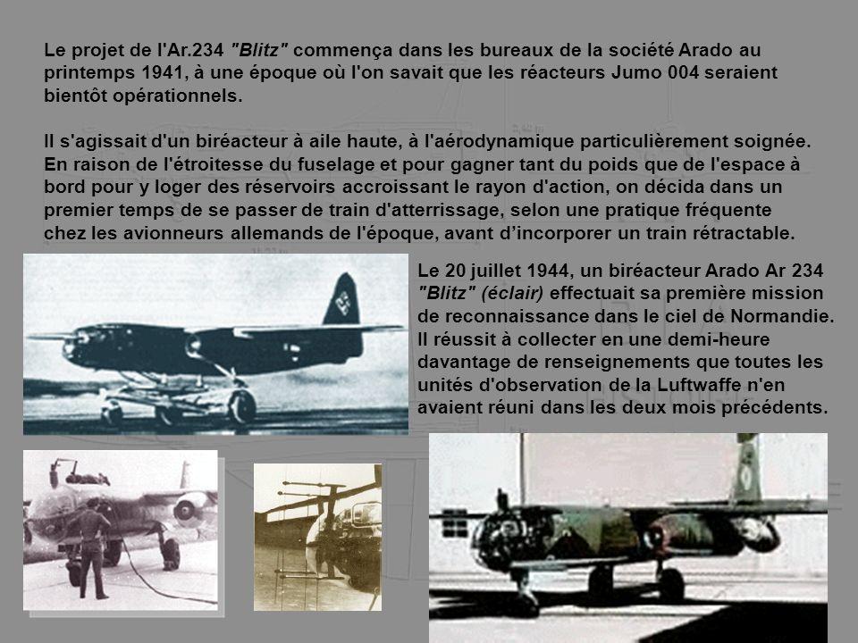 Le projet de l'Ar.234